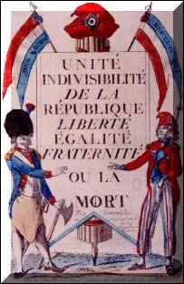 Proclamation de la République française :