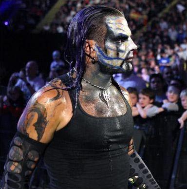WWE catcheurs aux visages peint