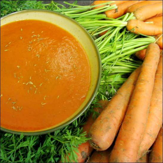 Dans les potages purées, les légumes sont :