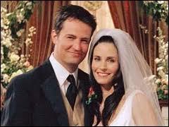 Qui marie Chandler et Monica ?