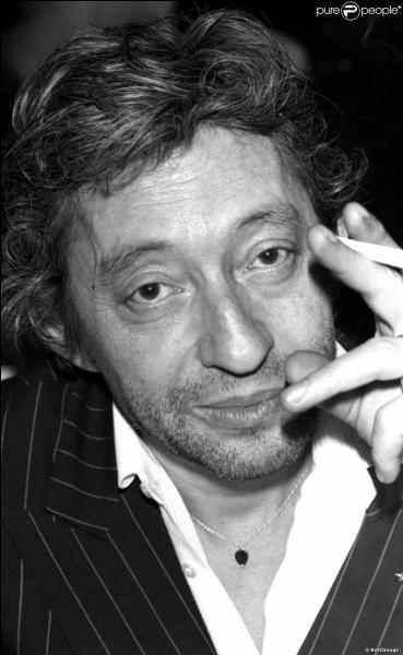 Serge Gainsbourg a avoué   j'en ai bavé, pas vous mon amour, avant d'avoir eu vent de vous ...   dans la chanson :