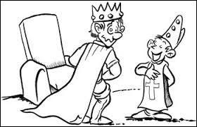 Quel roi est visé dans une chanson populaire où il est dit qu'il a mis sa culotte à l'envers ?