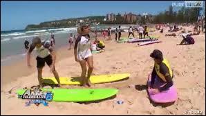 Quel est le prénom du surfeur sur lequel toutes les filles de la maison ont craqué ?