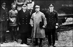 Trouver une date : armistice de la Première Guerre mondiale...