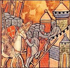 Trouver une date : Première croisade des chrétiens d'Occident, conquête de Jérusalem...
