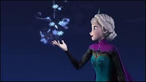 Sur cette image que chante Elsa ?