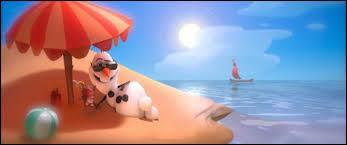 De quoi rêve Olaf ?