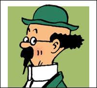 Comment s'appelle le personnage âgé, à moitié sourd et qui est scientifique ?