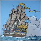Dans  Le Secret de la Licorne , que découvre Tintin dans le grand mât de la maquette ?