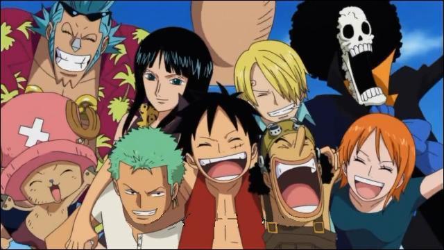 Qui sont les personnes de l'équipage de Luffy et dans quel ordre les a-t-il pris ?