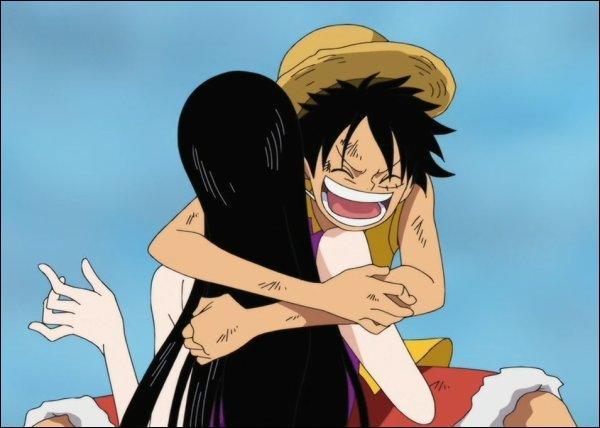 Qui est amoureuse de Luffy ?