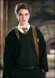 Quel surnom fut donné à Cedric ? Par quel élève de Gryffondor ?