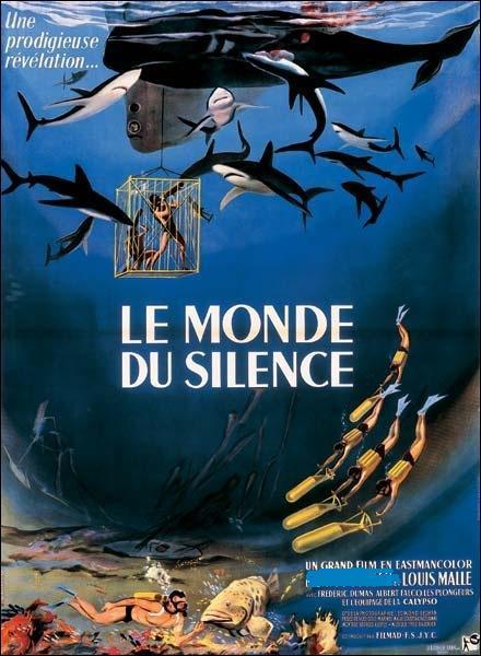 Le Monde du silence  est un film documentaire sur le monde sous-marin, qui obtint la Palme d'or à Cannes en 1956, et l'Oscar du meilleur documentaire en 57. Le film fut coréalisé par le jeune Louis Malle et :