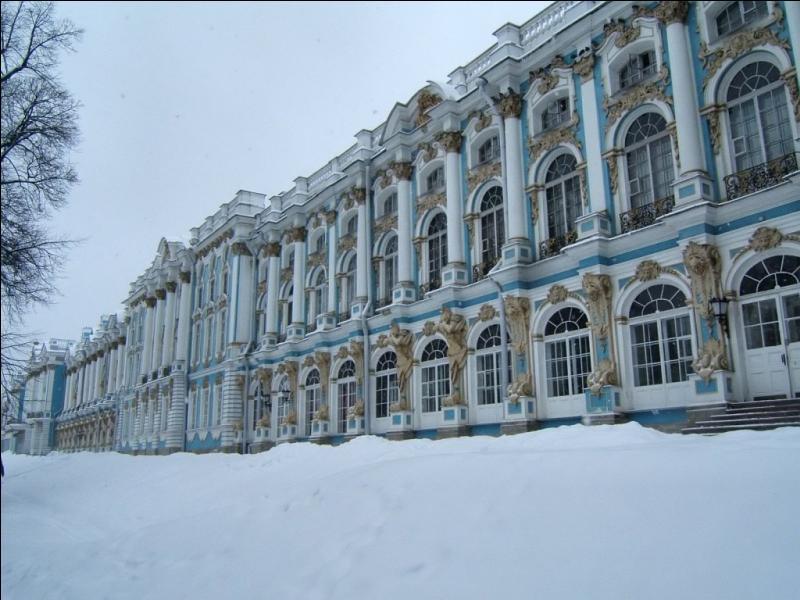 Le Tsarkoie Selo fut la résidence secondaire des tsars... mais qui en était l'architecte ?
