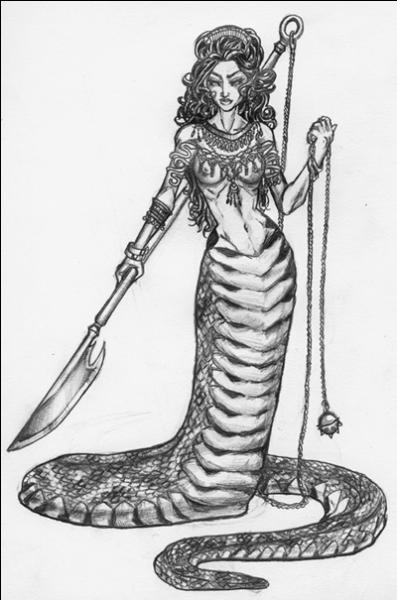 Ce dragon, chargé par Typhon de veiller sur les tendons de Zeus, était...