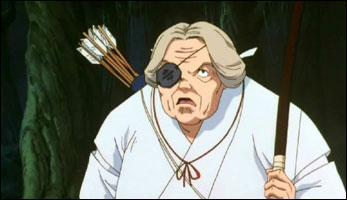 Comment s'appelle cette vieille prêtresse ?