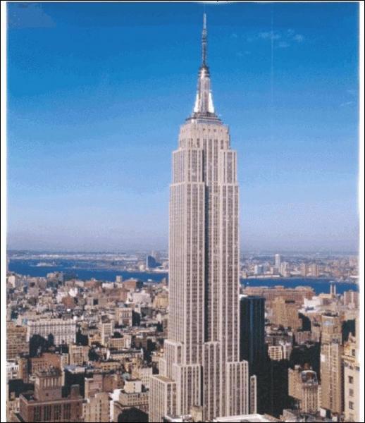 Dans quelle ville êtes vous si vous voyez cette tour?(c'est l'Empire State Building)