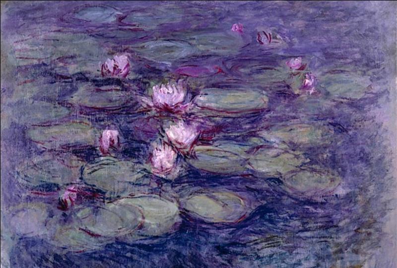 La série des Nymphéas est composée d'environ combien de peintures à l'huile ?