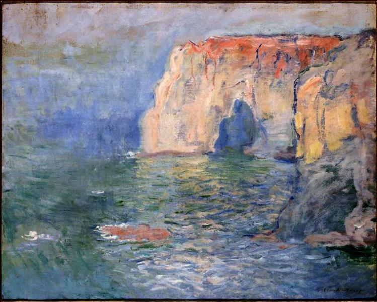 Etretat fut une source d'inspiration pour plusieurs de ses tableaux, dans quelle ville admire-t-on celui de la photo ?