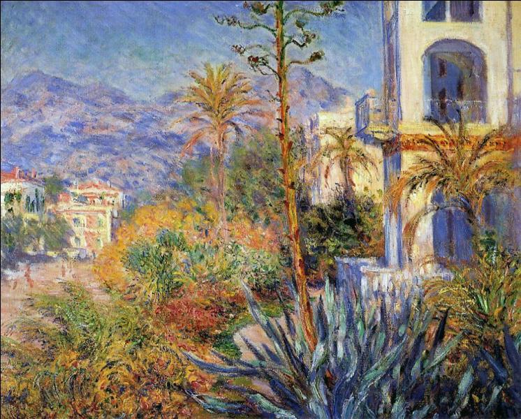 Avec quel peintre se rend-il fin 1883 à Bordighera ?