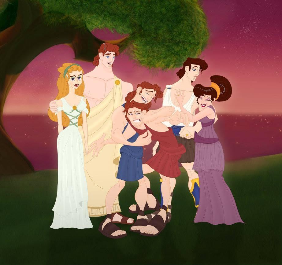 Les familles Disney