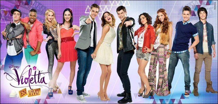 Les acteurs de Violetta sont-ils tous de même nationalité ?