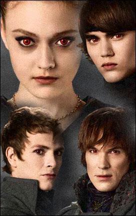 La famille qui règne sur les vampires est la famille...