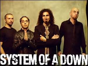 Le groupe System of a Down a écrit ''Prison Song'' une chanson très virulente sur le système pénitentiaire américain. Devinez le pays d'origine du groupe grâce aux noms de ses membres : Daron Malakian, Serj Tankian, Shavo Odadjian et John Dolmayan.