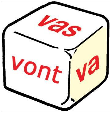 Il existe des verbes qui changent de radical lors de la conjugaison : je vais... , nous allons, ... j'irai, c'est le cas du verbe  aller . J'ai encore envie de vous demander quelle image conviendrait à ce genre de verbes.