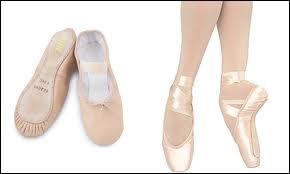 Quand on a 6 ans avec quels chaussons danse-t-on ?