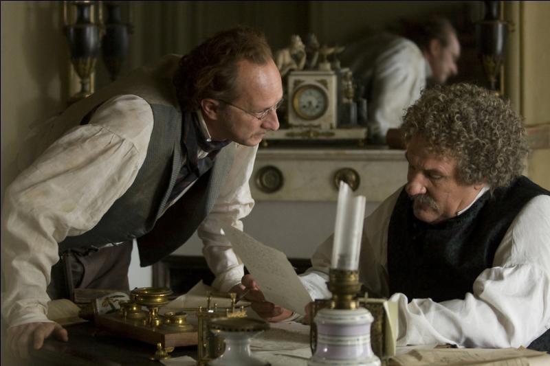 Qui joue aux côtés de Gérard Depardieu dans  L'Autre Dumas , film français de Safy Nebbou sorti en 2010 ?