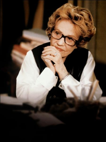 Cet amour-là , film de Josée Dayan sorti en 2001, avec Jeanne Moreau, est inspiré de la relation entre une écrivaine et Yann Andréa, écrivain lui aussi, qui fut son dernier compagnon. Qui est-elle ?
