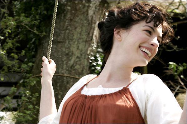 Qui interprète le rôle de Jane Austen, romanciére anglaise du 19e siècle, dans le film intitulé  Jane , sorti en 2007 ?