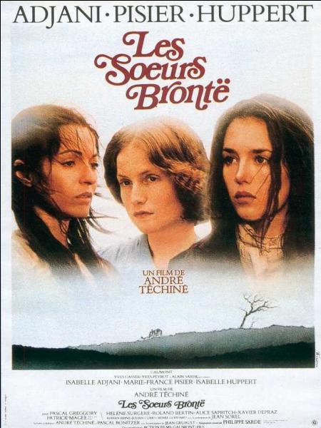 Les Soeurs Brontë , film d'André Téchiné sorti en 1979, relate des épisodes de la vie des trois soeurs Brontë, Charlotte, Emily et Anne, romancières et poétesses, et de leur frère, peintre tourmenté, dans l'Angleterre du début du 19e siècle. Parmi les trois interprètes féminines, qui joue le rôle de Charlotte ?