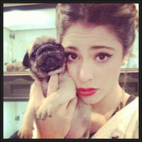 Martina a un chien