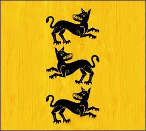 Cette bannière est l'emblème de la maison ...