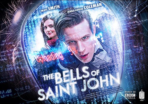 """Épisode 6. """"The Bells of Saint John"""". Combien de personnes la version Face de Cuillère du Docteur télécharge-t-elle ?"""