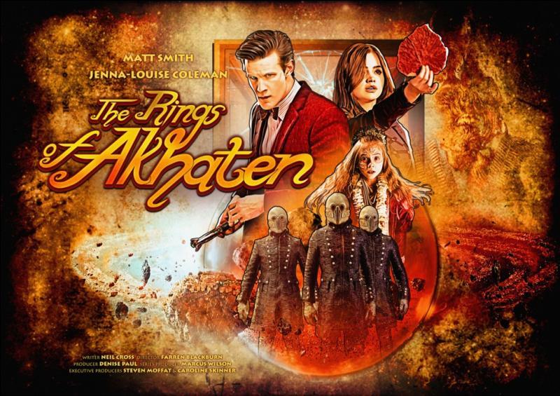 """Épisode 7. """"The Rings of Akhaten"""". De quoi le Docteur traite-t-il le Grand Dieu ?"""