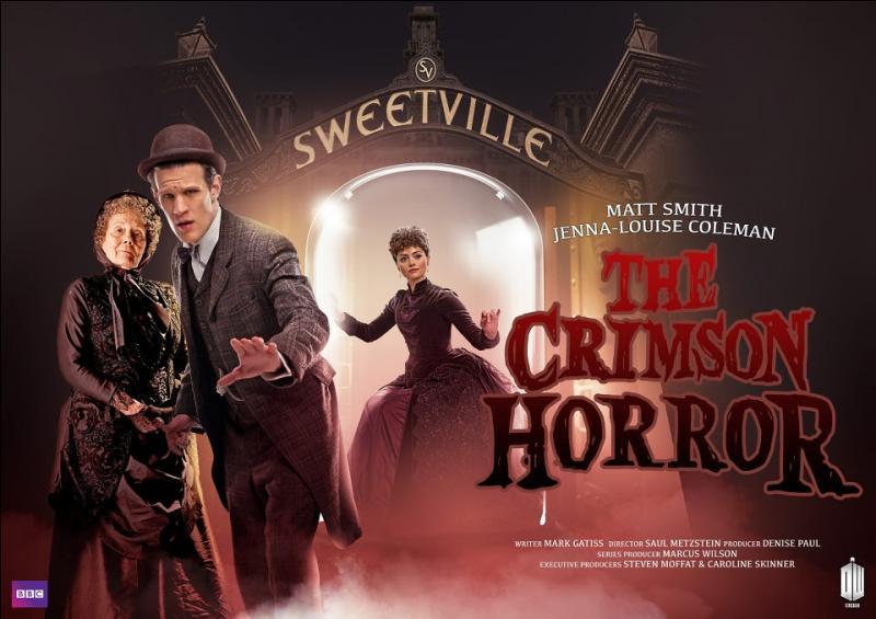 """Épisode 11. """"The Crimson Horror"""". Comment s'appelle la file de Madame Gillyflower ?"""
