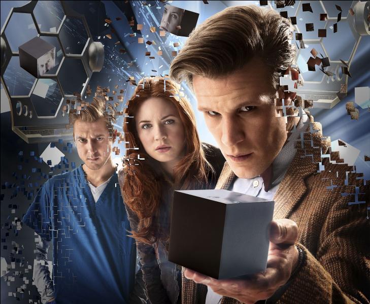 """Épisode 4. """"L'invasion des cubes"""". Qui est l'extraterrestre auquel le Docteur est confronté ?"""