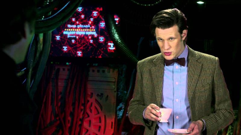 """Mini-épisode. """"The Inforarium"""". Le Docteur est-il réellement dans l'inforarium ?"""
