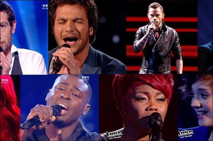 Qui n'est pas un finaliste de la finale de The Voice ?