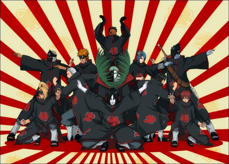 Mais où sont passés les dangereux criminels de l'Akatsuki ?