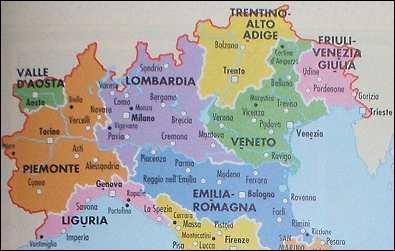 L'ineffable Venise attend notre couple de touristes français : partant de Toscane, ils devront passer par une autre région. Laquelle ?