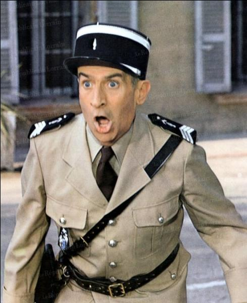 Louis de Funès interprète le maréchal des logis chef Ludovic Cruchot. Dans quel film ?