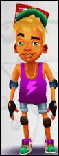 Qui est ce personnage qui adore faire du skate et traîner avec ses amis ?