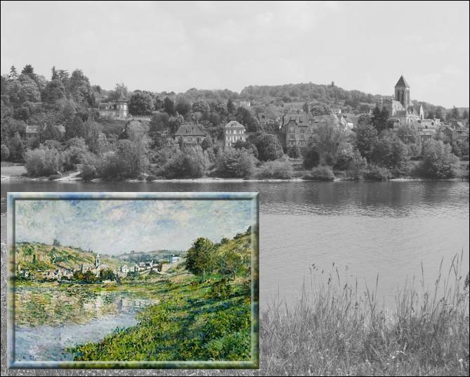 Il séjournera de 1878 à 1883 dans ce petit village dont-il réalisera plus de 150 tableaux dont près de 60 représentant son église...