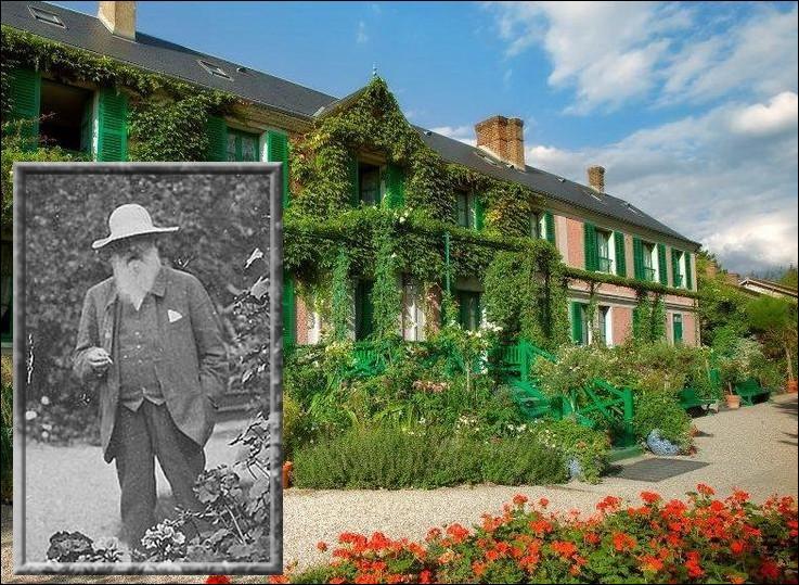En avril 1883, il s'installe définitivement à Giverny avec sa seconde femme Alice. Quel endroit de son jardin qu'il affectionne particulièrement, immortalisera-t-il plus de 45 fois dans ses peintures ?
