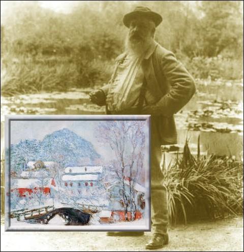 """Au début de 1895, il va rendre visite à Jacques Hoschedé son beau-fils à """"Christiana"""" aujourd'hui devenu..."""