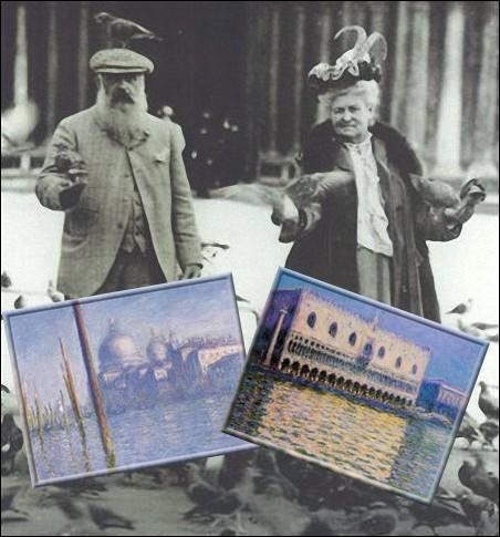 En octobre 1908, il entreprend un voyage à Venise avec sa seconde épouse. Quel était le prénom de cette seconde épouse qui fut également son modèle ?